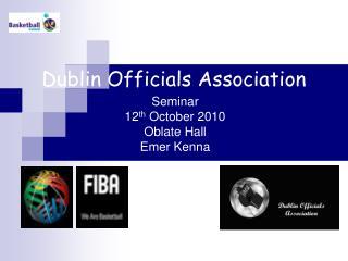 Dublin Officials Association