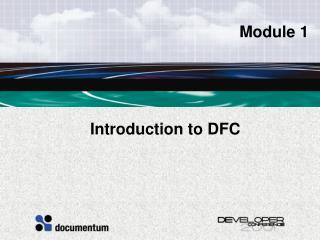 Introduction to DFC