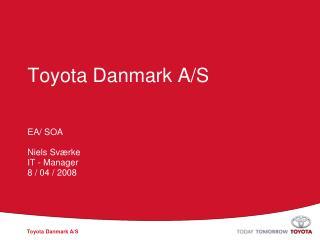 Toyota Danmark A/S
