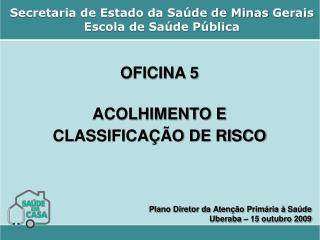 Secretaria de Estado da Sa de de Minas Gerais Escola de Sa de P blica