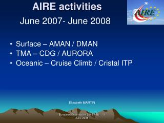 AIRE activities