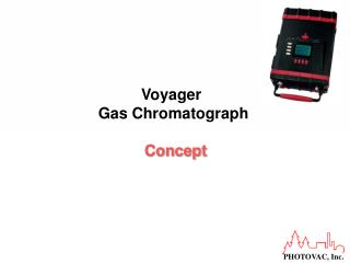 Voyager  Gas Chromatograph Concept