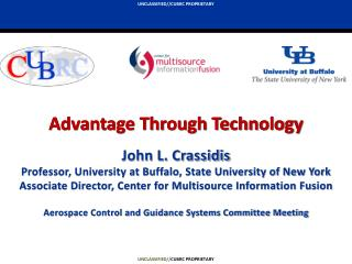 John L. Crassidis Professor, University at Buffalo, State University of New York Associate Director, Center for Multisou
