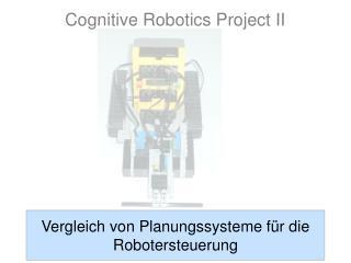 Vergleich von Planungssysteme für die Robotersteuerung