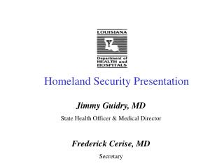 Homeland Security Presentation