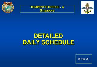 TEMPEST EXPRESS - 4 Singapore