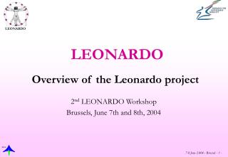 Overview of the Leonardo project
