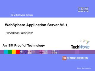 WebSphere Application Server V6.1  Technical Overview