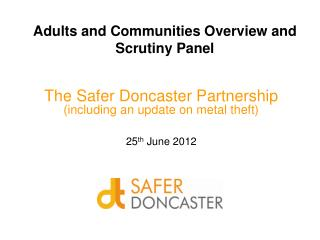 Adults and Communities Overview and Scrutiny Panel