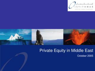 Private Equity in Middle East