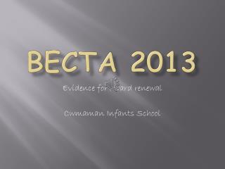 BECTA 2013