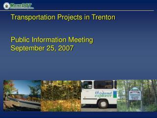 Transportation Projects in Trenton