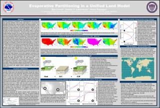 Evaporative Partitioning in a Unified Land Model