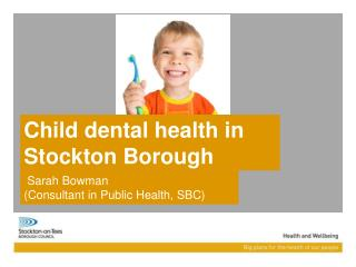 Child dental health in Stockton Borough
