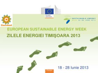EUROPEAN SUSTAINABLE ENERGY WEEK