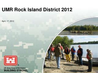 UMR Rock Island District 2012