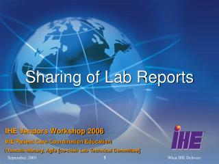 Sharing of Lab Reports