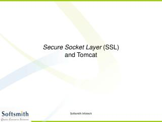 Secure Socket Layer SSL and Tomcat