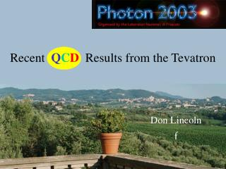 Recent   Q C D   Results from the Tevatron