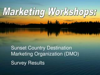 Marketing Workshops: