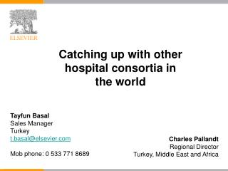 Charles Pallandt Regional Director Turkey, Middle East and Africa