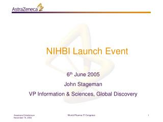 NIHBI Launch Event