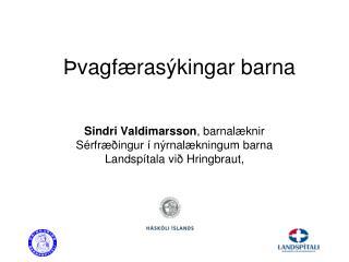 Þvagfærasýkingar barna
