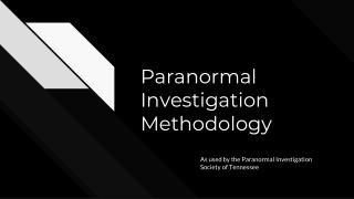 Names of Investigators