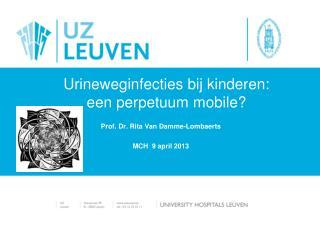 Urineweginfecties bij kinderen:  een perpetuum mobile?