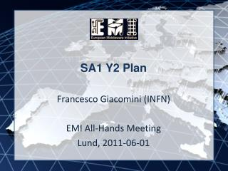 SA1 Y2 Plan