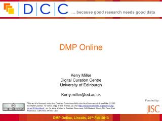 DMP  Online