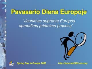 Pavasario Diena Europoje