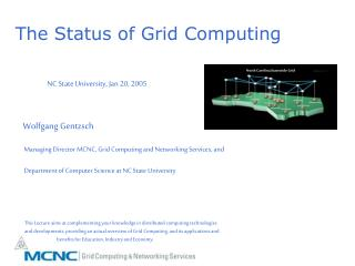 The Status of Grid Computing
