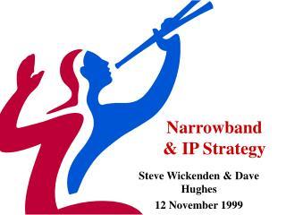 Narrowband  & IP Strategy