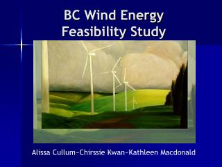 BC Wind Energy Feasibility Study