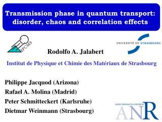 Institut de Physique et Chimie des Matériaux de Strasbourg