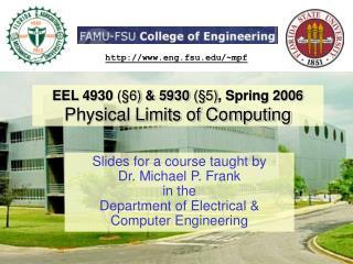 EEL 4930