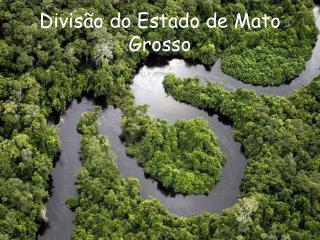 Divis�o do Estado de Mato Grosso
