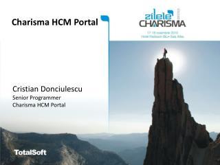 Charisma HCM Portal