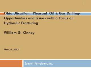 Summit Petroleum, Inc.