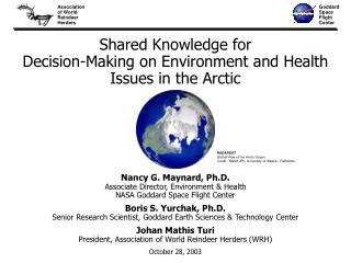 Shared Knowledge for  Decision-Making on Environment and Health Issues in the Arctic