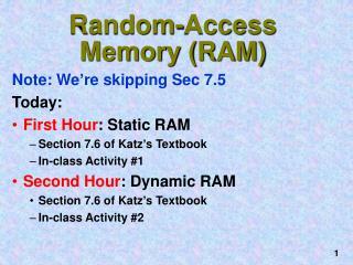 Random-Access Memory (RAM)