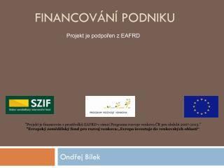 Financov�n� podniku