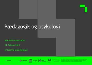 Pædagogik og psykologi
