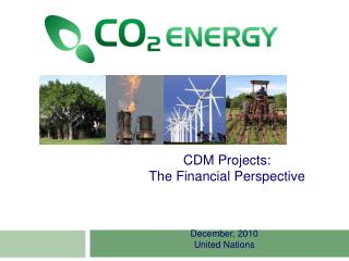 CDM Projects: The Financial Perspective