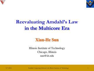 Reevaluating Amdahl