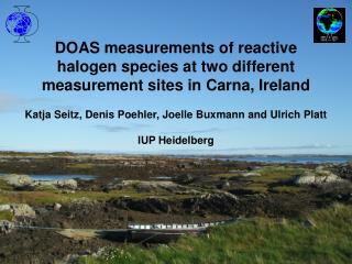 DOAS measurements of reactive halogen species at two different measurement sites in Carna, Ireland