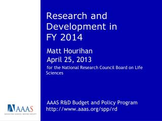 Research and Development in FY 2014