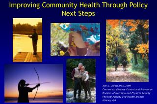 Improving Community Health Through Policy Next Steps