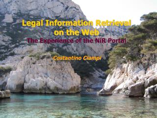 Legal Information Retrieval on the Web The Experience of the NiR Portal